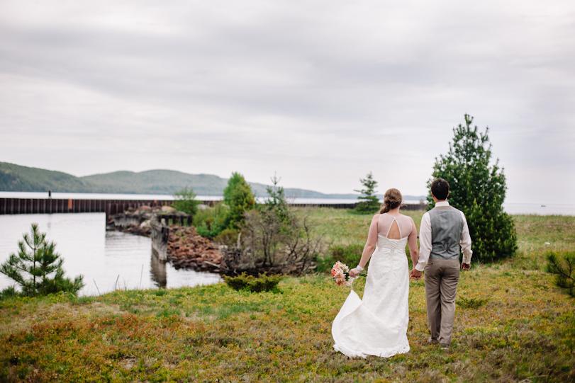 Wedding on Lake Superior