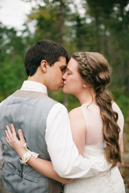 Portrait of Bride and Groom