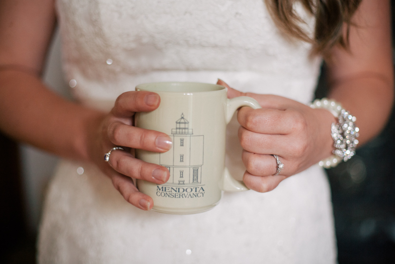 Wedding at a michigan lighthouse