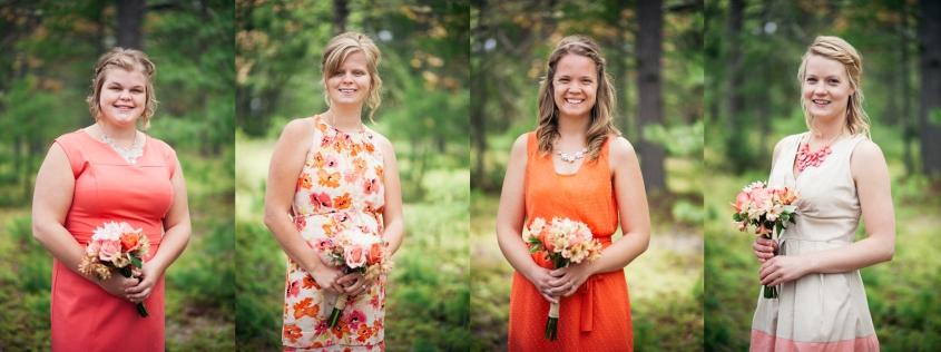 Bridesmaids in Michigan